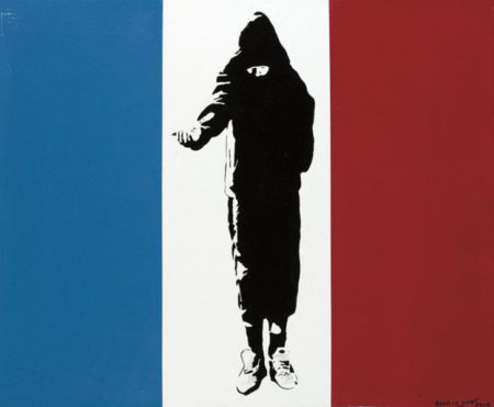 Blek le Rat-Homeless in Paris-2006