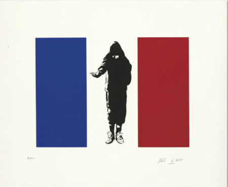 Blek le Rat-Homeless in Paris-2007