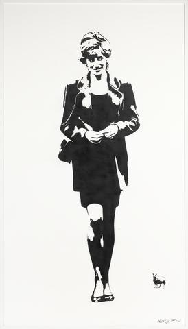 Blek le Rat-Lady Diana-2008