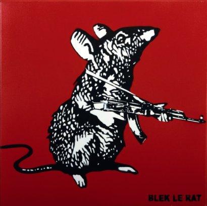 Blek le Rat-Le rat mitrailleur-
