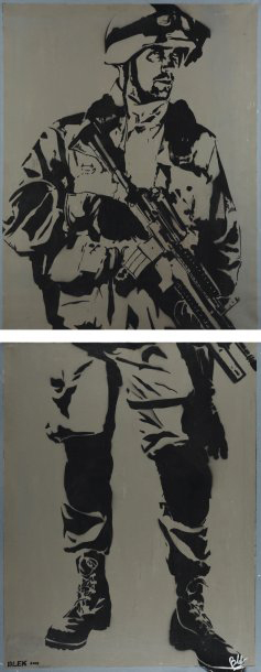 Blek le Rat-No Respect GIS-2004