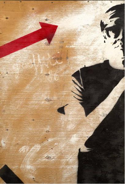 Blek le Rat-Portrait of Andy Warhol-1986