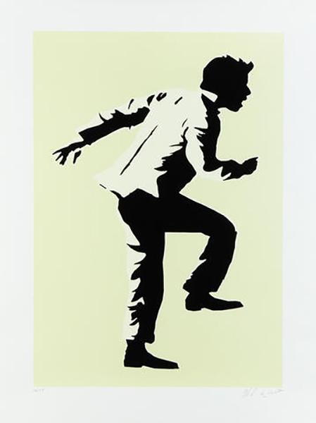 Blek le Rat-Running Man-2008