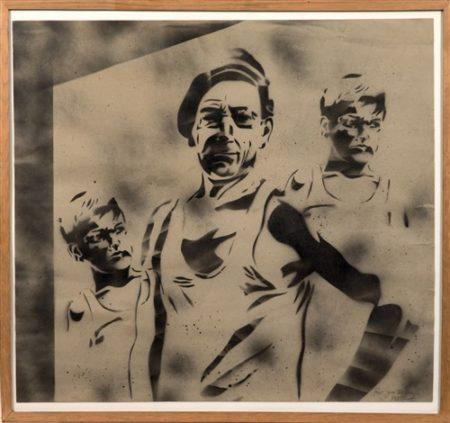 Blek le Rat-Sans titre (Stencil - Towards)-1985