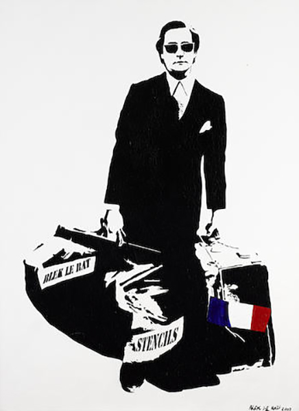 Blek le Rat-The Man That Walks Through Walls-2007