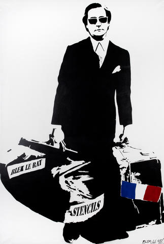Blek le Rat-The Man Who Walks Through Walls-2007