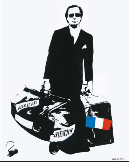 Blek le Rat-The man who goes through the wall in our wonderful world-2008