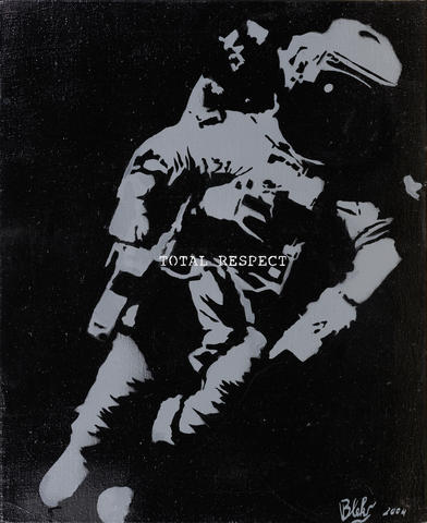 Blek le Rat-Total Respect (Yuri Gagarin)-2004