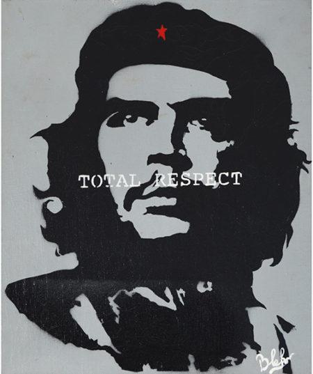 Blek le Rat-Total Respect (Che Guevara)-2003