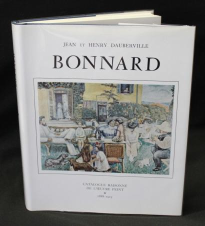 Bonnard - Catalog of Painted Work (1888-1905), Volume I, by John and Henry Dauberville-