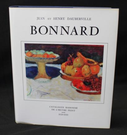 Bonnard - Catalogue of Painted Work (1920-1939), Volume III by John and Henry Dauberville-