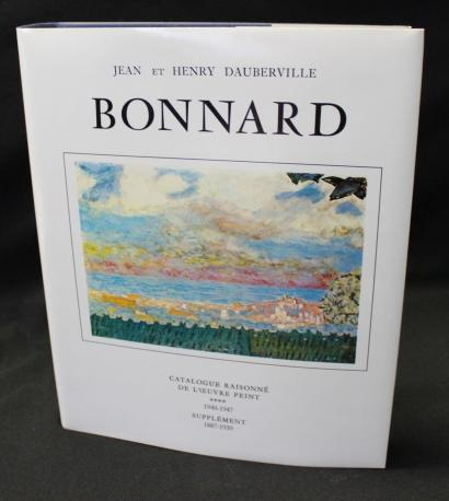 Bonnard - Catalogue of Painted Work (1940-1947) , Volume IV and Supplement (1887-1939) , by John and Henry Dauberville-