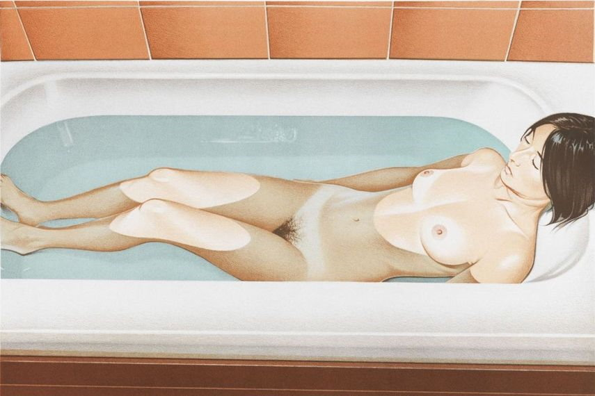Bonnards Bath, 1979