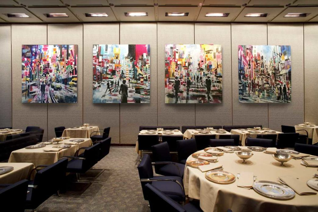 Brad Robson Exhibition at Four Seasons
