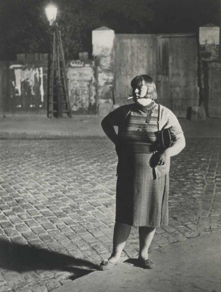 Brassai-Fille De Joie Quartier Italie (De Face)-1932