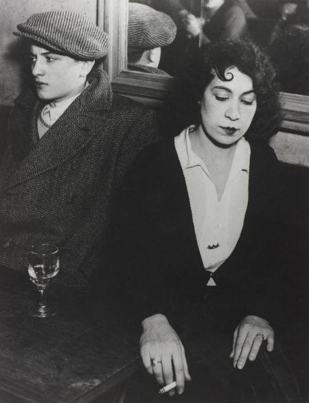 Brassai-The Quarrel, Bal des Quatre-Saisons, Rue de Lappe-1933