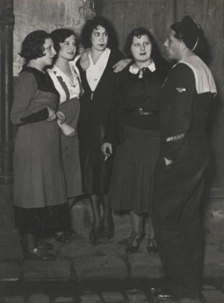 Brassai-Marin En Bordee Rue De Lappe-1932