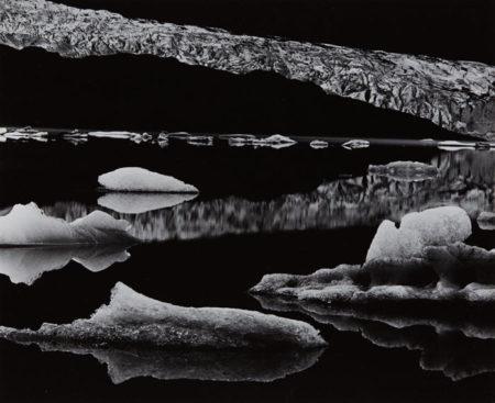 Brett Weston-Mendenhall Glacier, Alaska-1973