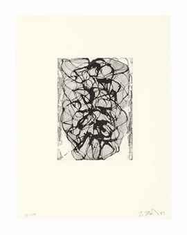 Brice Marden-Han Shan Exit #6-1993