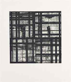 Brice Marden-One plate, from Tiles-1979