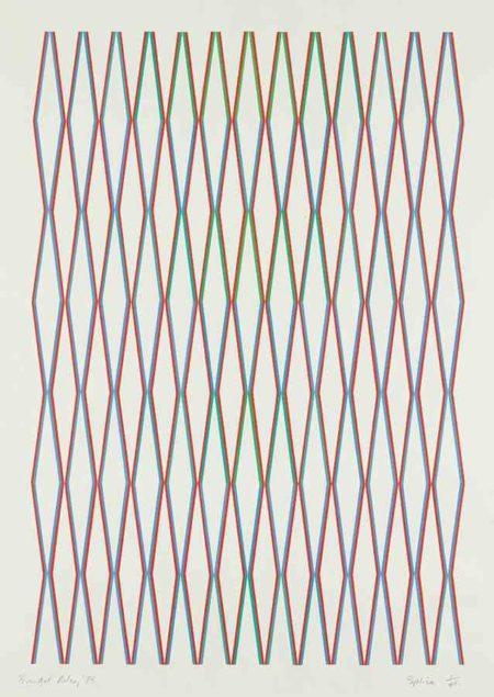 Bridget Riley-Splice-1975