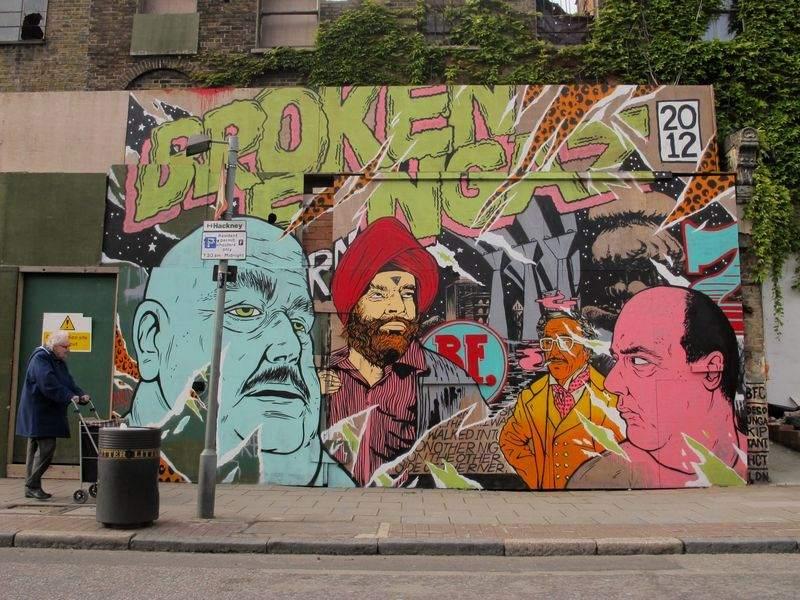 the israeli street art crew is consisted of haifa unga and deso
