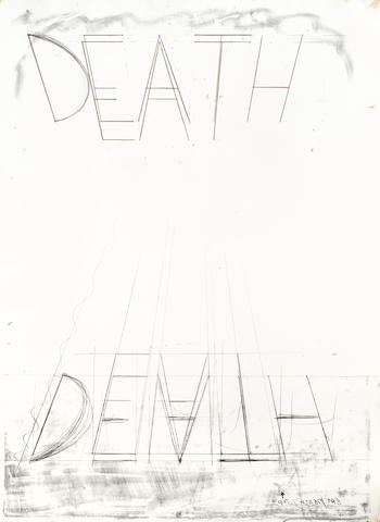 Bruce Nauman-Eat Death-1973