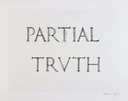 Bruce Nauman-Partial Truth-1997