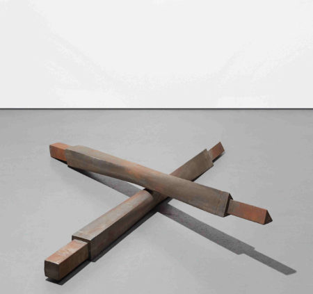 Bruce Nauman-Untitled (Crossbeams)-1987
