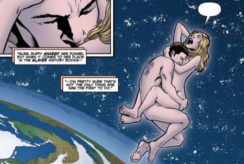 sex superhero comic