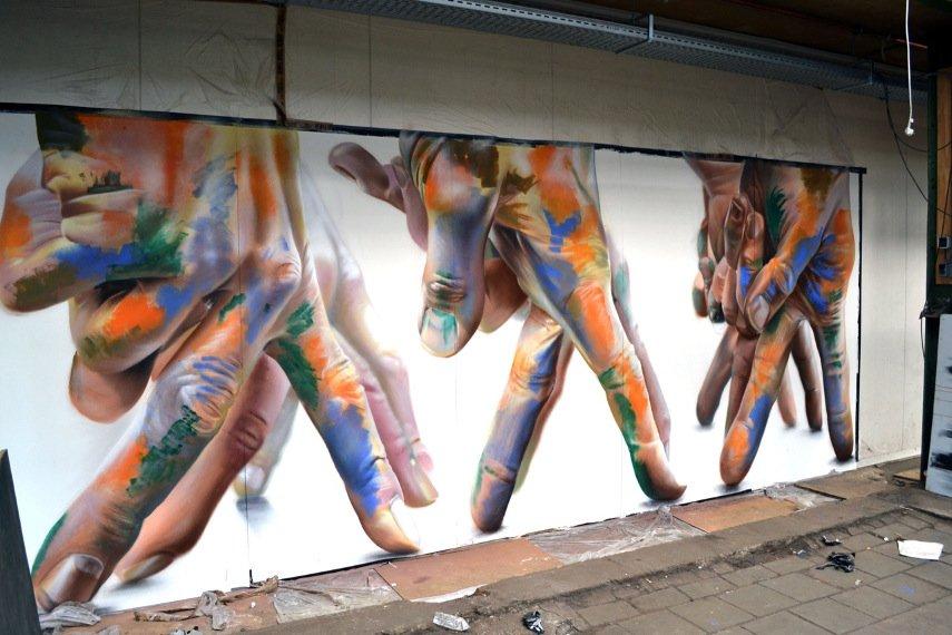 CASE Maclaim - A Mural in In Amsterdam, Netherlands, 2016 - Image via streetartnewscom