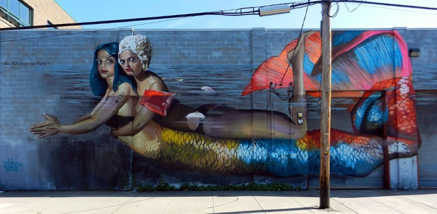 CASE Maclaim - A Mural in Rochester, USA, 2016 - Image via bpcom