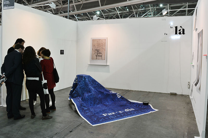 Kelly Schacht at Meessen de Clercq, Present Future