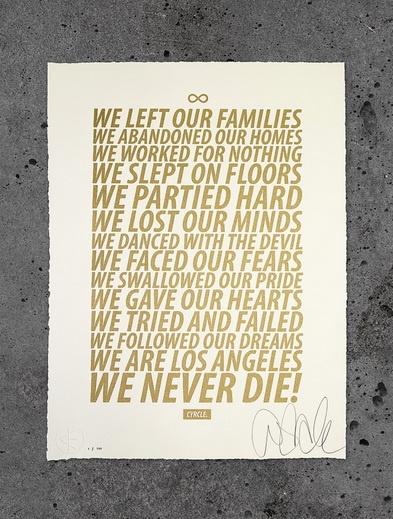 CYRCLE. - Los Angeles Manifesto, 2011