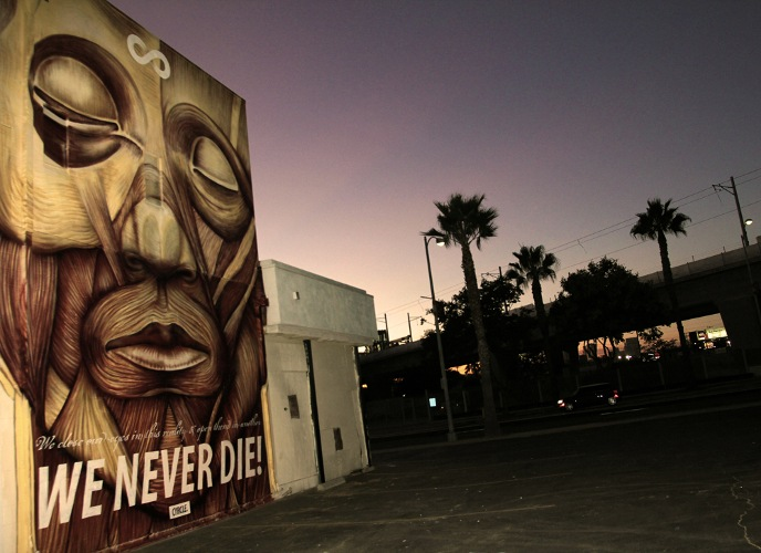 CYRCLE. - We Never Die!, Culver City, USA, 2012 - Photo by CYRCLE.