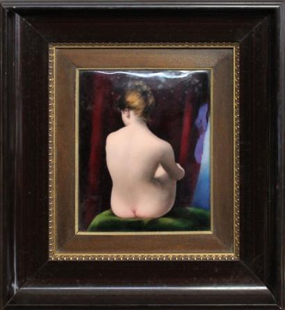 Camille Faure-Back of a Nude Woman-