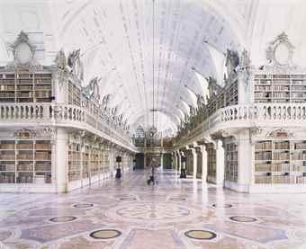 Candida Hofer-Biblioteca do Palacio National de Mafra II-2006