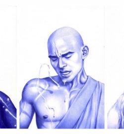 Cary Kwok - Cam to Father, Muscle Toss, Buddjism, 2010, photo credits dazeddigital.com