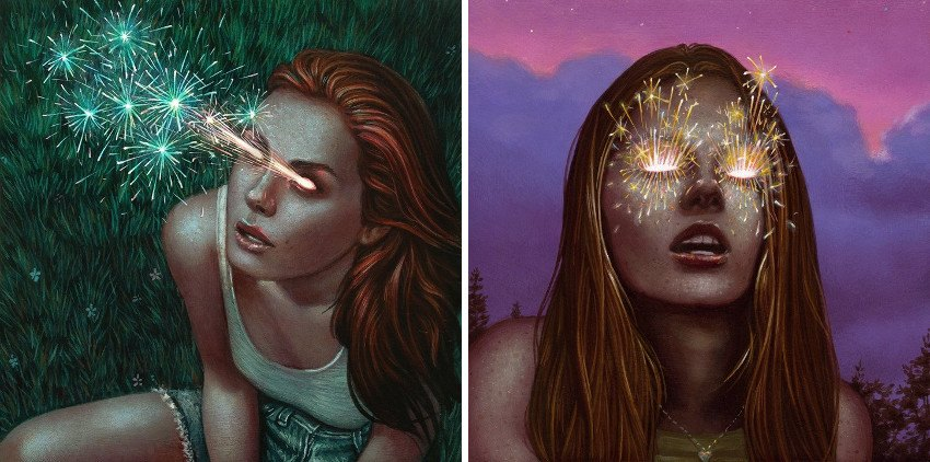 Casey Weldon limited edition sold collections print 2013 collection big eyes 2014 sold