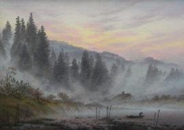 Caspar David Friedrich - Untitled Landscape - Image via pinterestcom