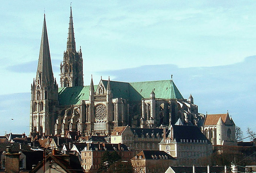 Château and cathedrals - French architecture