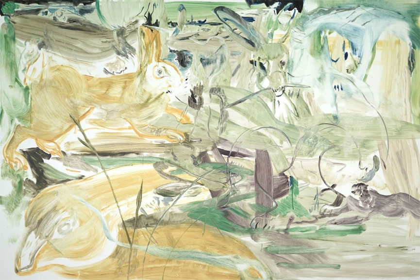 Cecily Brown - Untitled, 2012