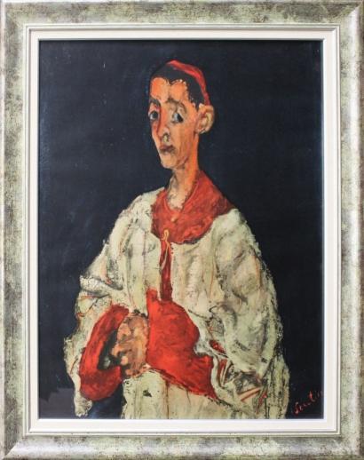 Chaim Soutine-Enfant de chaeur-