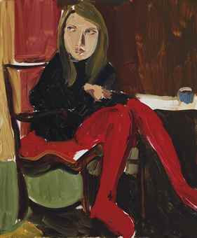 Chantal Joffe-Moll at Seagate-2015