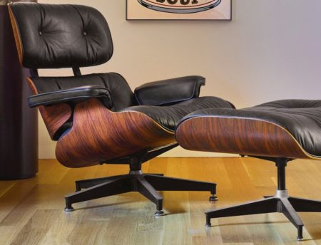 Charles And Ray Eames - Lounge Chair, Model No. 670, And Ottoman, Model No. 671-1970