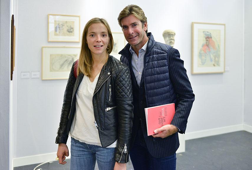 Charlotte Chesnais and Jean-Christophe Laizeau