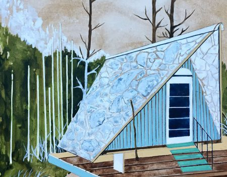 Back from an Inspiration Trip - Charlotte Keates Paintings at Arusha Gallery