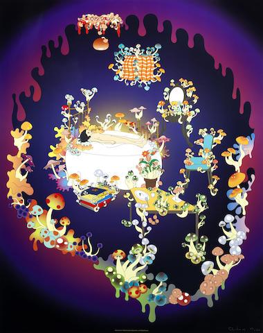 Chiho Aoshima-Piercing a Heart & Mushroom Room-2005