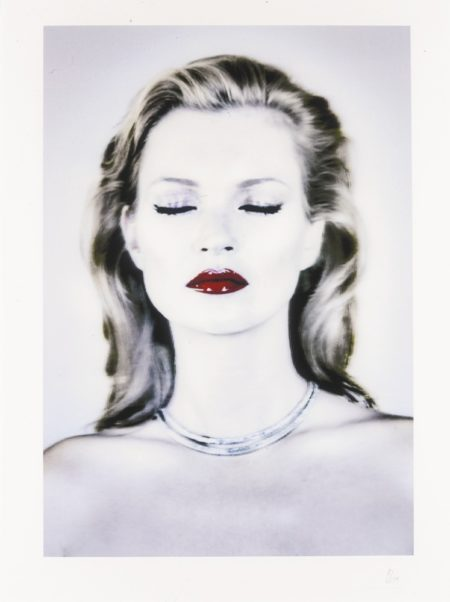 Chris Levine-Kate Moss (She's Light)-2014