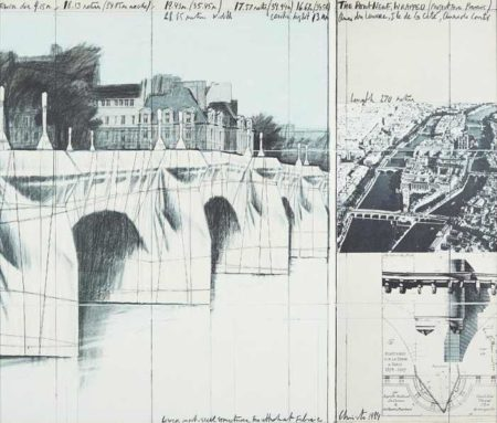 The Pont Neuf Wrapped, Project for Paris-1984